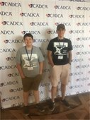 Aidan Thurston and Gabe Grover attend CADCA Midyear Conference