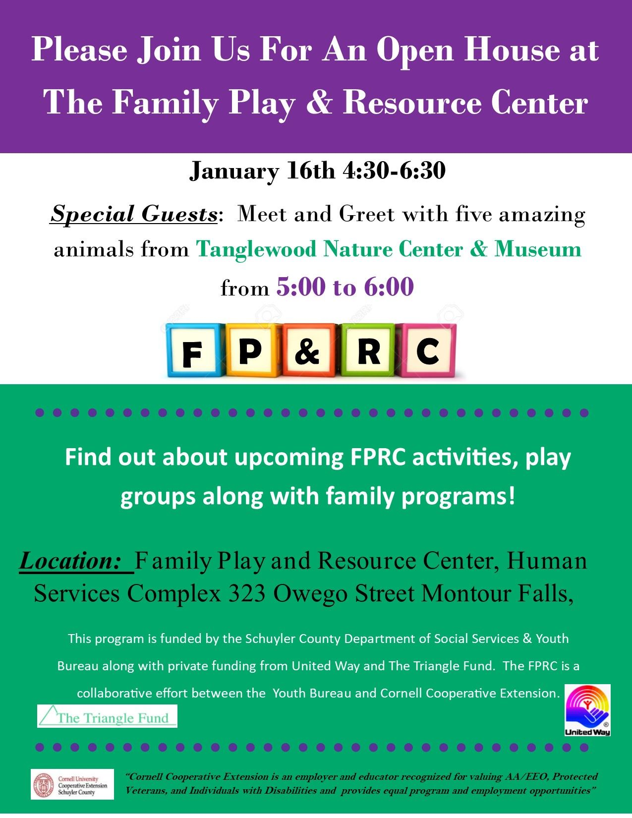 FPRC Open House