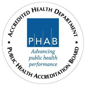 PHAB Accredited Health Department Seal